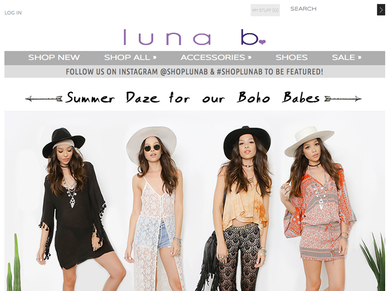 SHOP LUNA B