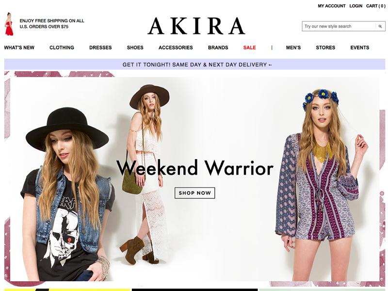 SHOP AKIRA