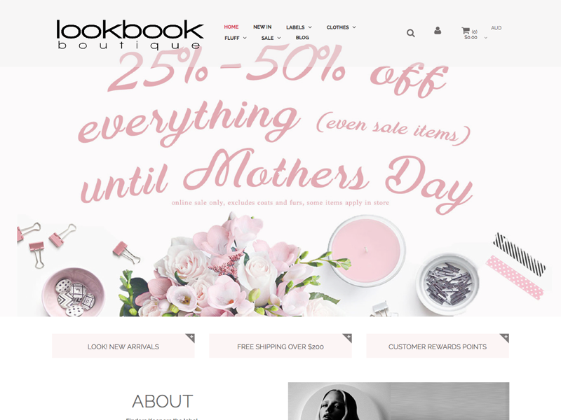 look book boutique