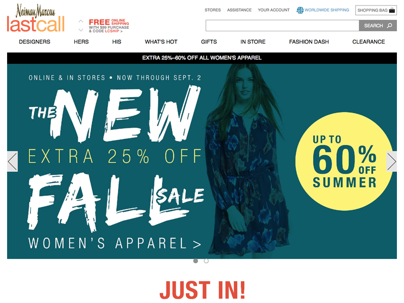 Last Call by Neiman Marcus